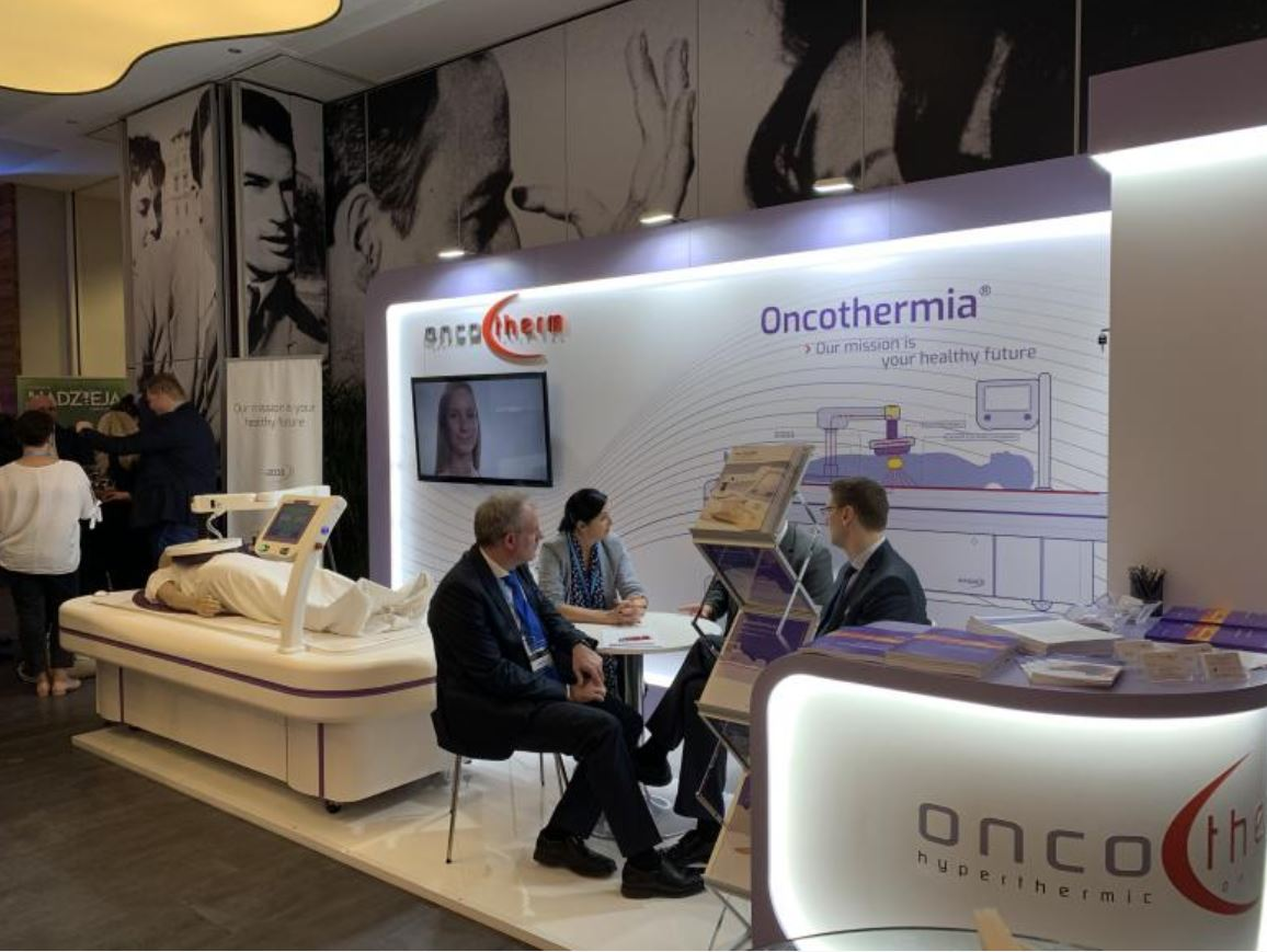 Oncotherm booth