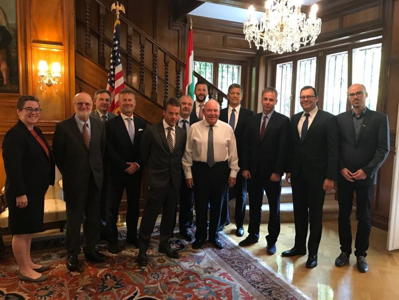 Hungarian SelectUSA Investment Summit Delegation