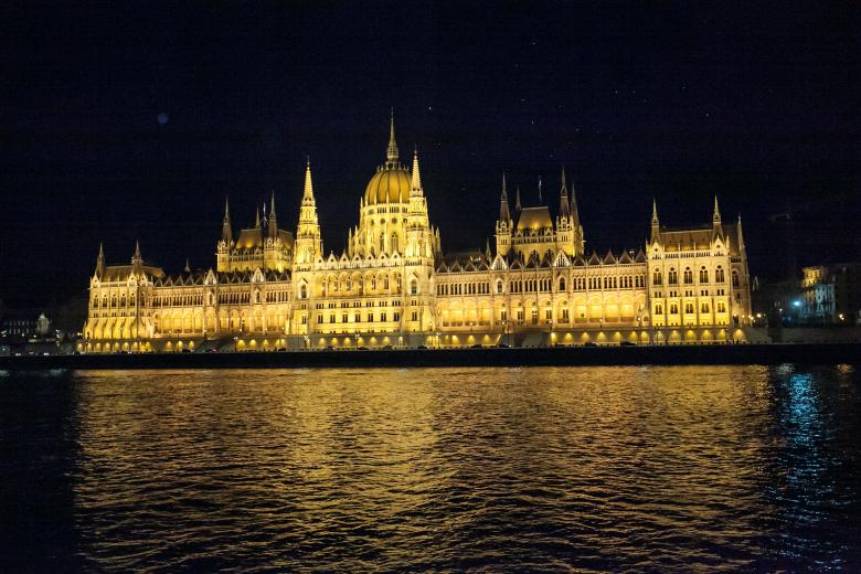 Budapest Parliament from the cruise