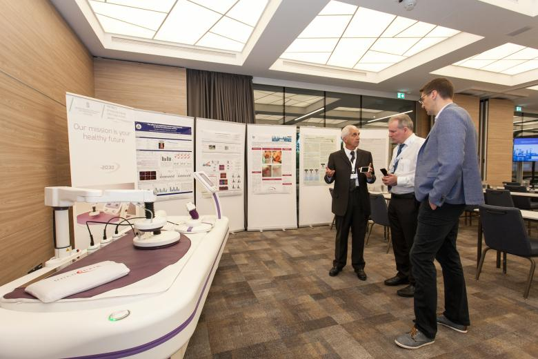 Poster presentations and the latest Oncotherm device: EHY-2030