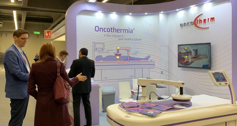 Oncotherm exhibited at European SocieTy for Radiotherapy & Oncology