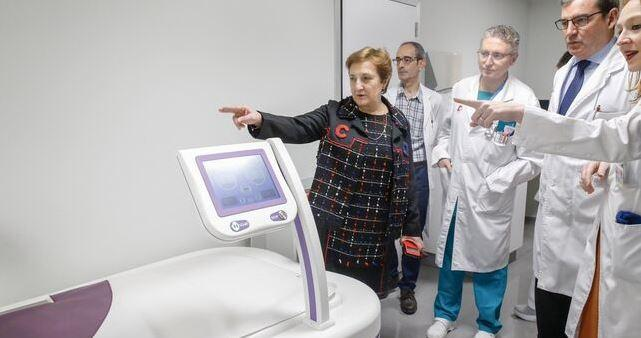 Installation of EHY-2030 in Spain, Valdecilla