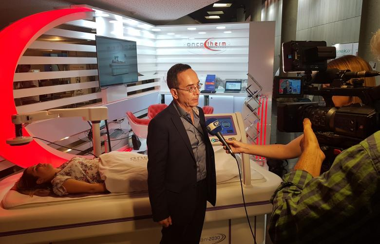 Greek TV riport about Oncotherm