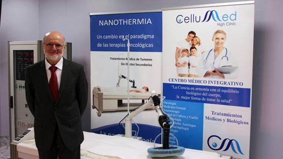 Prof. András Szász at Cellumed Clinic