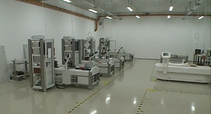 Oncotherm Kft. production hall